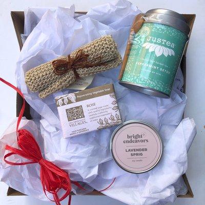 Global Gifts Self-Care/Treat Yourself Medium Mystery Box