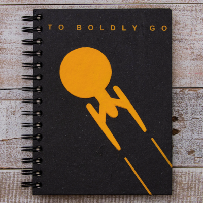 Mr Ellie Pooh Large To Boldly Go Journal