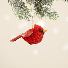 Serrv Buri Bird Cardinal Ornament