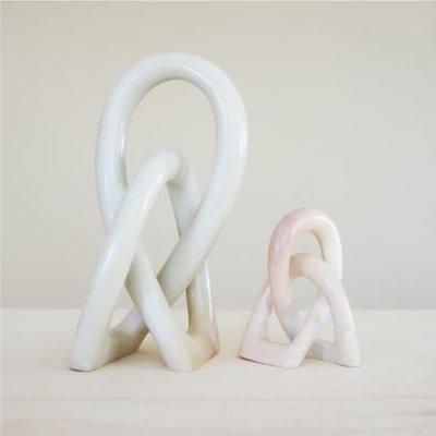 Venture Imports Large Wedding Knot Sculpture Natural