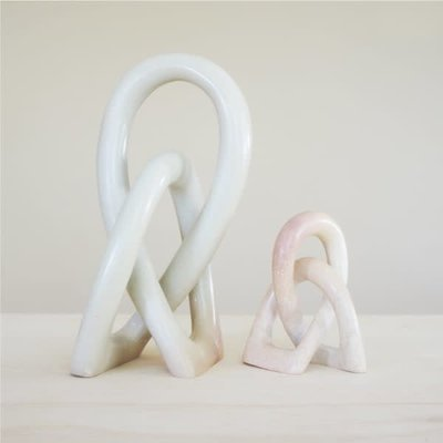 Venture Imports Small Wedding Knot Sculpture Natural