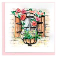 Quilling Card Herb Garden Quilled Card