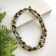 World Finds Kantha Terai Necklace