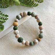 World Finds Kantha Terai Bracelet