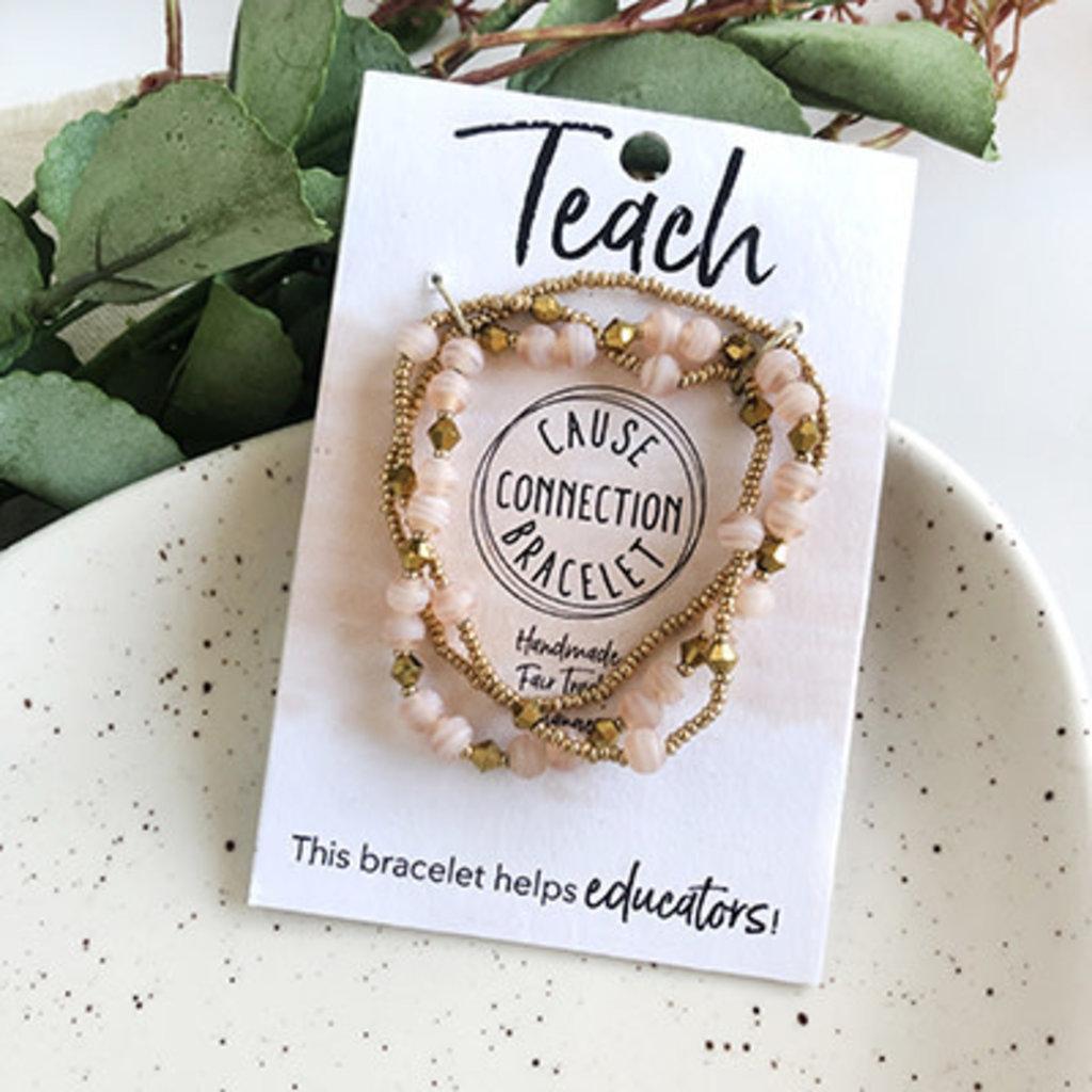 World Finds Cause Bracelet to Teach