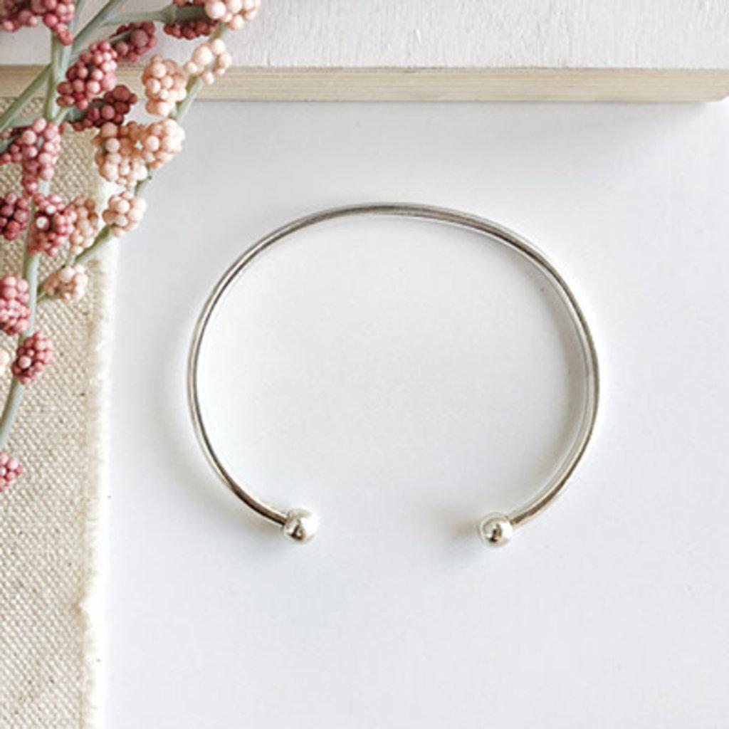 World Finds Persephone Silver Cuff