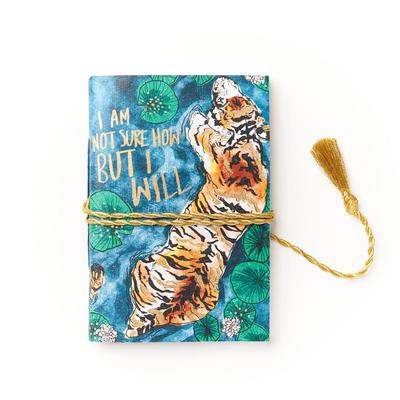Matr Boomie Sundara Watercolor Tiger Journal