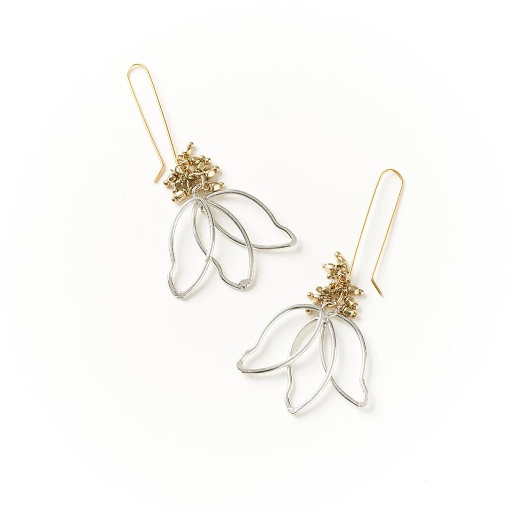 Matr Boomie Kairavini Lotus Petal Earrings
