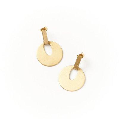 Matr Boomie Diya Disc Earrings