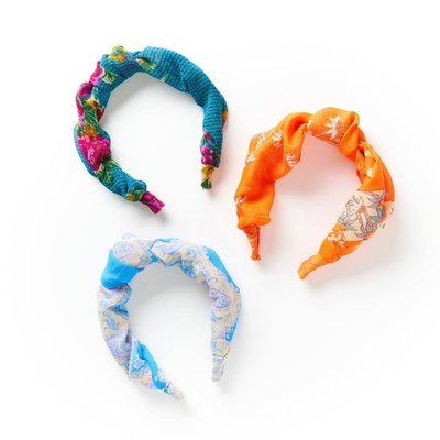 Matr Boomie Upcycled Sari Knotted Headband
