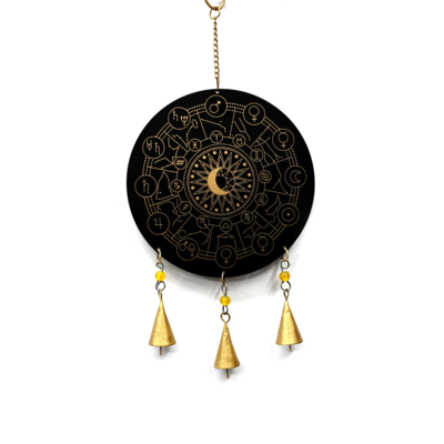 Mira Fair Trade Zodiac Recycled Metal Chime