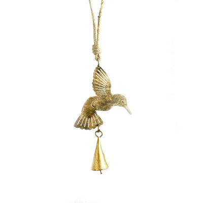 Mira Fair Trade Mini Hummingbird Reycled Metal Chime