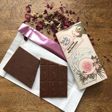 River-Sea Chocolate Milk Chocolate with Rose Petals