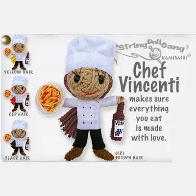 Kamibashi Chef Vincenti Long Hair String Doll