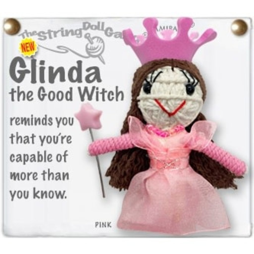 Kamibashi Glinda String Doll Keychain