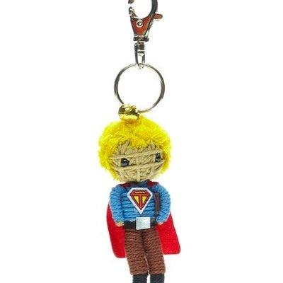 Kamibashi Super Teacher Short Hair String Doll Keychain