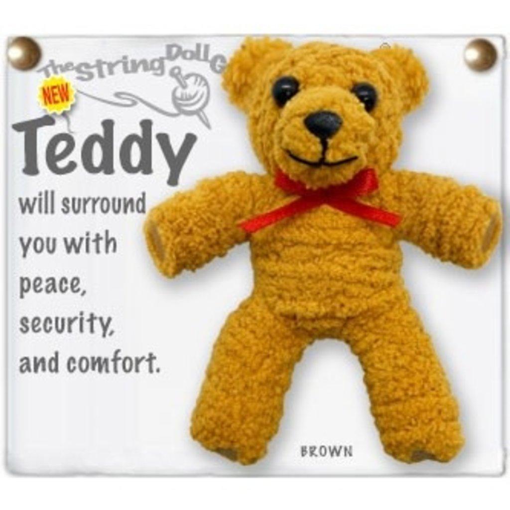 Kamibashi Teddy String Doll Keychain