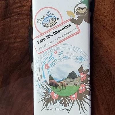 River-Sea Chocolate Peru 72% Chocolate Bar