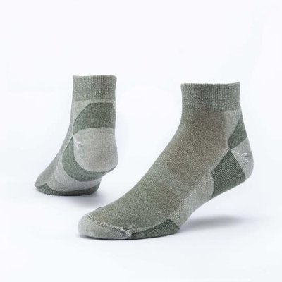 Maggie's Organics Green Urban Hiker Ankle Socks