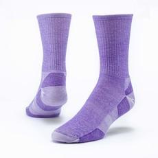 Maggie's Organics Purple Urban Hiker Crew Socks