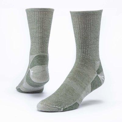 Maggie's Organics Green Urban Hiker Crew Socks