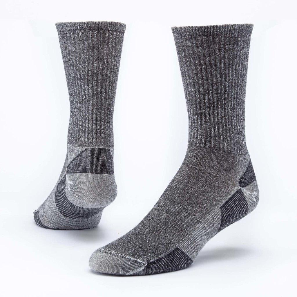 Maggie's Organics Black Urban Hiker Crew Socks