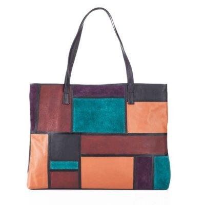 Serrv Avani Leather Tote Bag