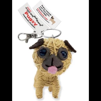 Kamibashi Pugsy String Doll Keychain