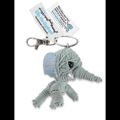 Kamibashi Ellie the Elephant String Doll Keychain