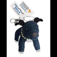 Kamibashi Pitbull String Doll Keychain