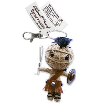 Kamibashi Sparticus String Doll Keychain