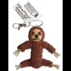 Kamibashi Sammy the Sloth String Doll Keychain