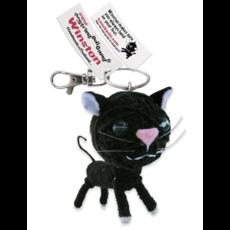 Kamibashi Winston the Cat String Doll Keychain