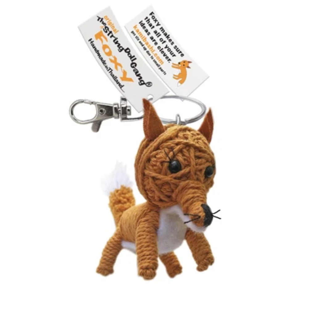 Kamibashi Foxy String Doll Keychain