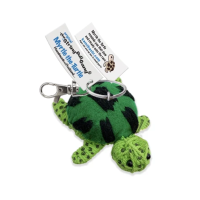 Kamibashi Myrtle the Turtle String Doll Keychain