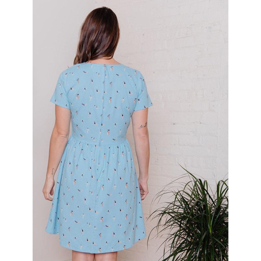 Mata Traders Serenade Dress Blue Swimmers