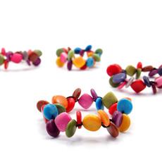 Minga Imports Chiclet Berry Tagua Bracelet