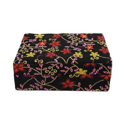 Minga Imports Luxury Jewelry Box Black