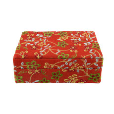 Minga Imports Luxury Jewelry Box Red