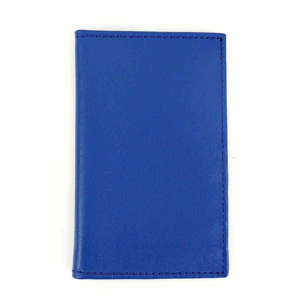 Minga Imports Signature Leather Bifold Blue