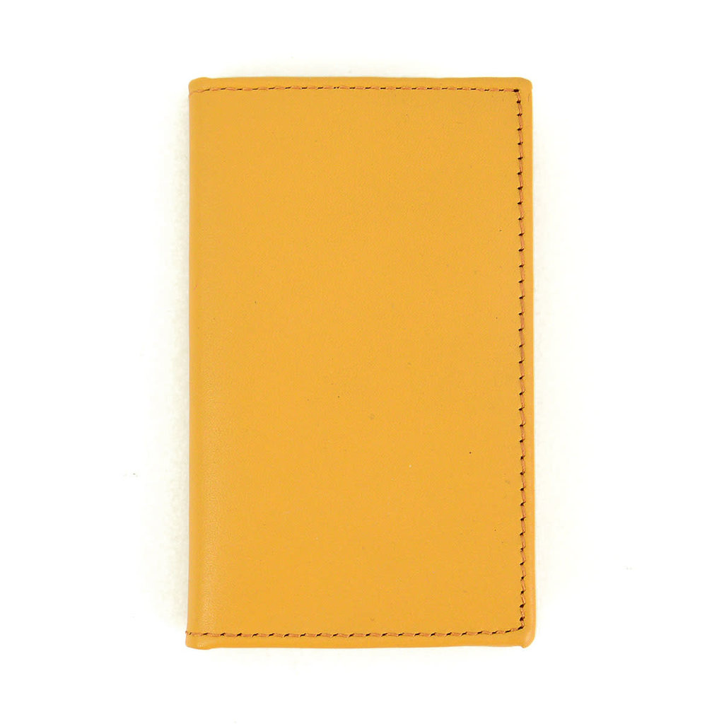 Minga Imports Signature Leather Bifold Mustard