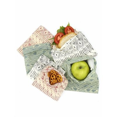Fair Anita Organic Cotton Reusable Snack Bag: Light