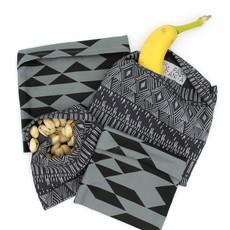 Fair Anita Organic Cotton Reusable Snack Bag: Dark