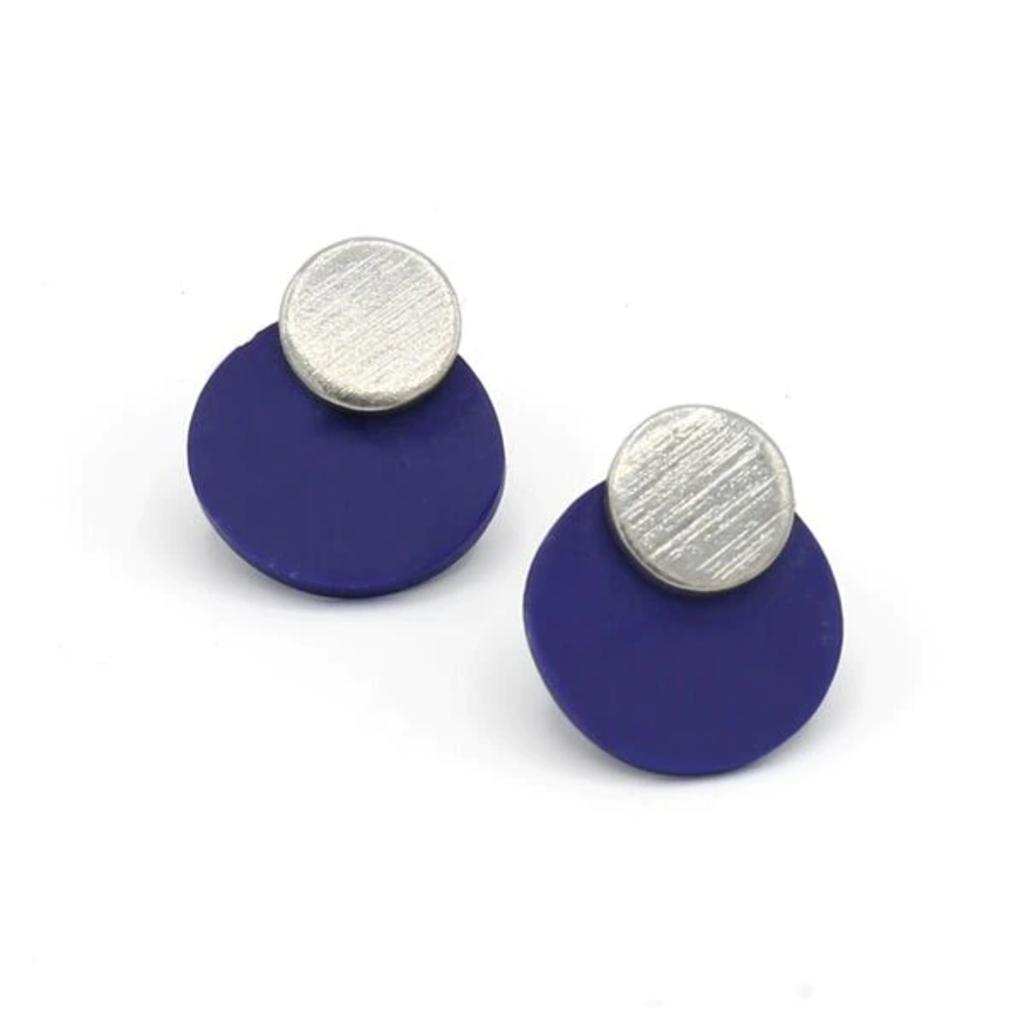 Fair Anita Saturn Stud Earrings