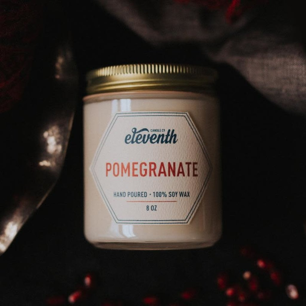 Eleventh Candle Co Pomegranate Candle 8oz
