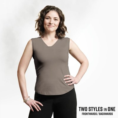Maggie's Organics Organic Cotton Spring Tank in Sable