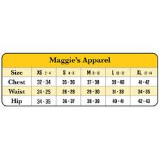 Maggie's Organics Blackout Organic Cotton Midcalf Leggings