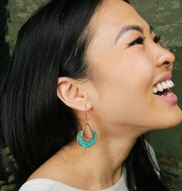 Fair Anita Pantina Copper Loop Earrings