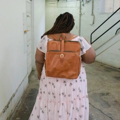 Fair Anita Voyager Leather Backpack
