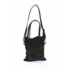 Fair Anita Daring Black Suede Purse